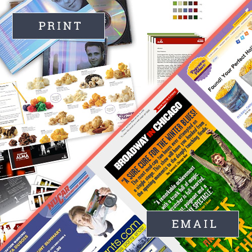 Graphic Design and Email Development